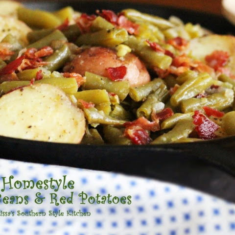Homestyle Green Beans & Red Potatoes