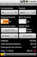 Screenshot of Brewzor Calculator BETA