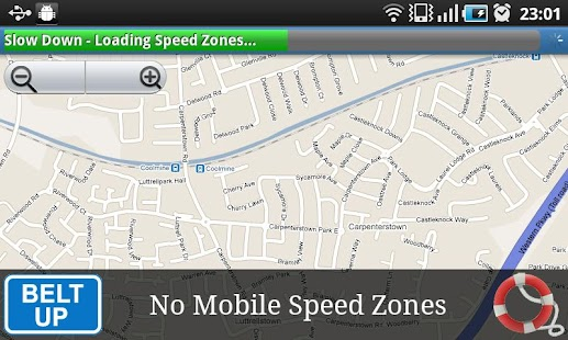 Slow Down for Speed Cameras - screenshot