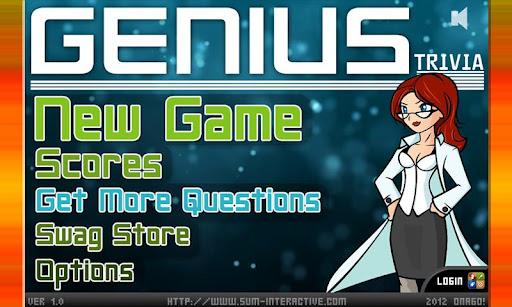 Genius Trivia Impossible Hard
