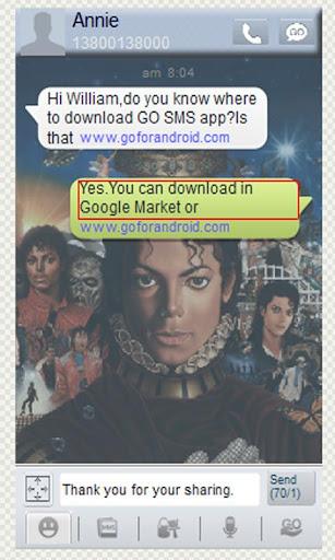 【免費個人化App】Michael Jackson Gosmstheme-APP點子