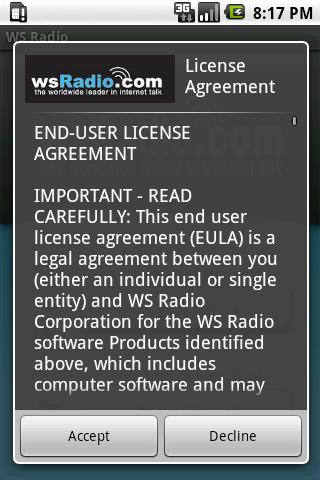 wsRadio.com Mobile