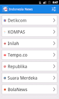 Screenshot of Indonesia News