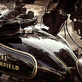 Cool rides, eh? by Liz Hahn - Transportation Motorcycles