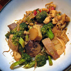 Chicken Broccoli Stir Fry for 2