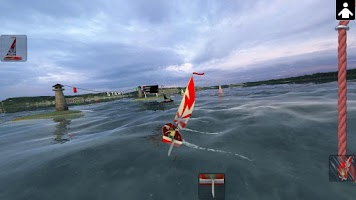 Screenshot of Top Sailor sailing simulator