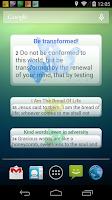 Screenshot of Uplifting Psalms Daily