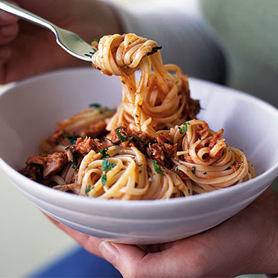 Linguine With Tuna Sauce