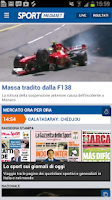 Screenshot of SportMediaset