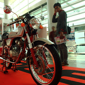 One and only Honda 50cc by Aris Arianto - Artistic Objects Antiques