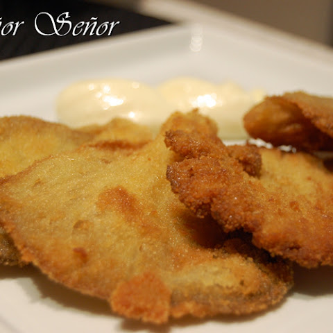 Breaded Mushrooms with Aioli