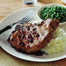 Pork Chops with Tangy Red Currant Sauce