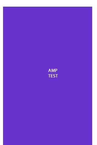 【免費工具App】AMP test-APP點子