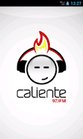 Screenshot of Caliente 97.1 Panamá