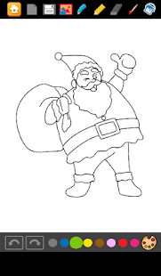 Coloring Games Santa Claus - screenshot