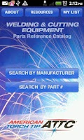 Screenshot of Parts Finder