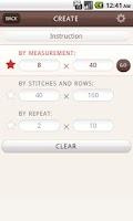 Screenshot of Gaugefy: Knitting Gauge