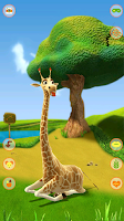 Screenshot of Talking Giraffe