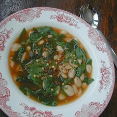 Quick White Bean and Spinach Soup