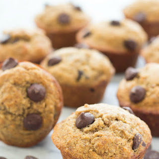 Skinny Banana Almond Butter Muffins