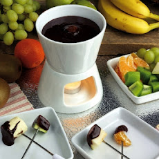 The Best Chocolate Fondue