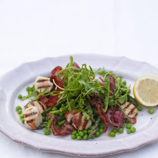 Scallops With Pancetta & Mint Butter