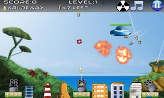 Screenshot of Missile Defense