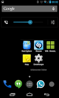 Screenshot of BetterKat CM11 Theme Blue