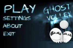 Screenshot of Ghost Volley Lite