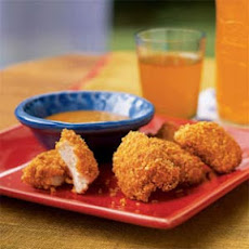 Chicken Nuggets with Mustard Dipping Sauce