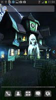 Screenshot of UR 3D Haunted House Live Theme