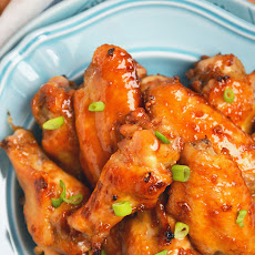 Sticky Asian Garlic Wings