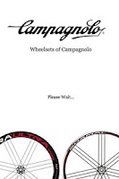 Screenshot of Campagnolo Wheelset Info.