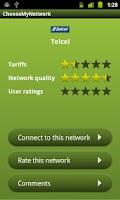 Screenshot of Choose My Network