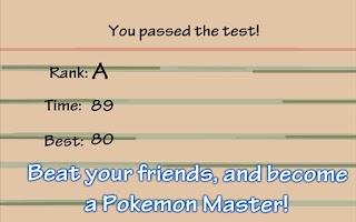 Screenshot of Poke Moron Test