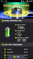 Screenshot of COOL BATTERY WIDGET