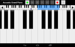 Screenshot of xPiano+