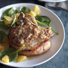 Orange-Braised Pork Chops