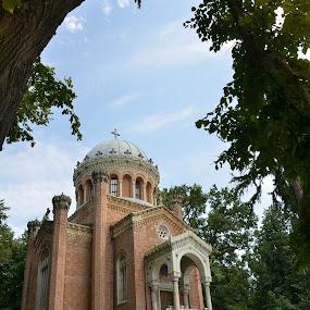 Capela Sfanta Treime - Palatul Stirbei by Kati Raileanu - Buildings & Architecture Public & Historical