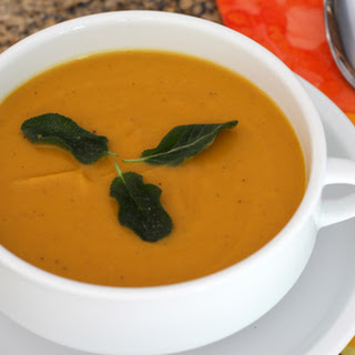 Roasted Sweet Potato Soup