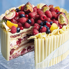 White Chocolate And Raspberry Marquise