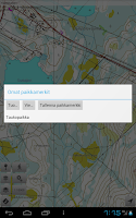 Screenshot of Karttaselain