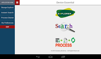 Screenshot of Device Essential