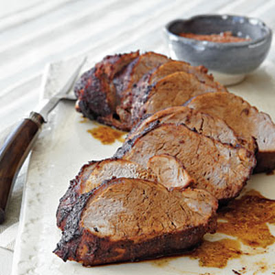 Pork Tenderloin with Smoky Espresso Rub