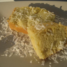 Coconut Pound Cake (Using Coconut Milk)