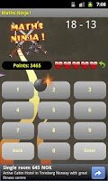 Screenshot of Maths Ninja !