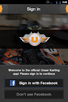Screenshot of Unser Karting & Events