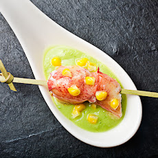 Corn Soup with Lobster and Avocado Recipe | Yummly
