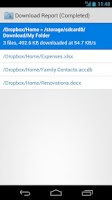 Screenshot of Folder Downloader for Dropbox