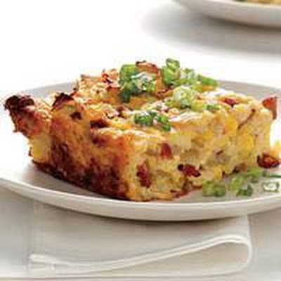 Tortilla Bread Pudding
